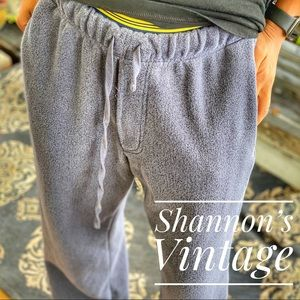 Orvis open leg medium sweat pants A33
